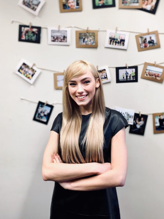 active youth member Jurgita