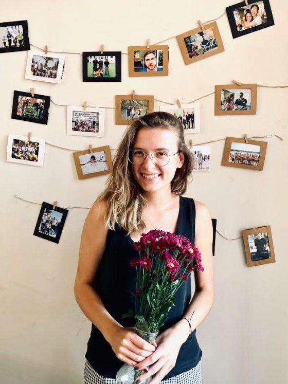 Aktyvus jaunimas darbutoja Laura