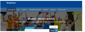 how to fin Erasmus partner on Erasmus+ project results platform