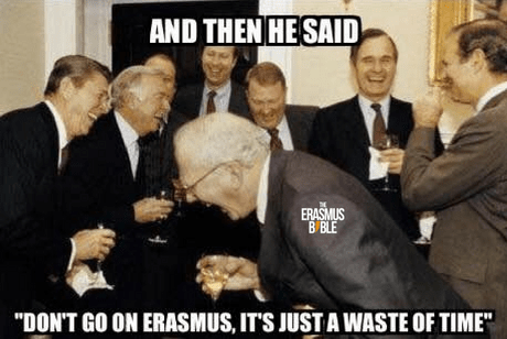 erasmus meme about wasting time abroad