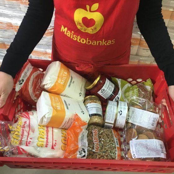 reikalingi savanoriai maisto banke