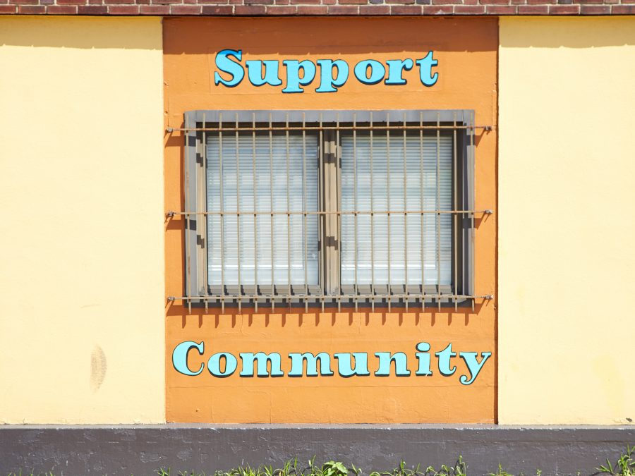 Support community painting