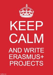 Erasmus project writing meme