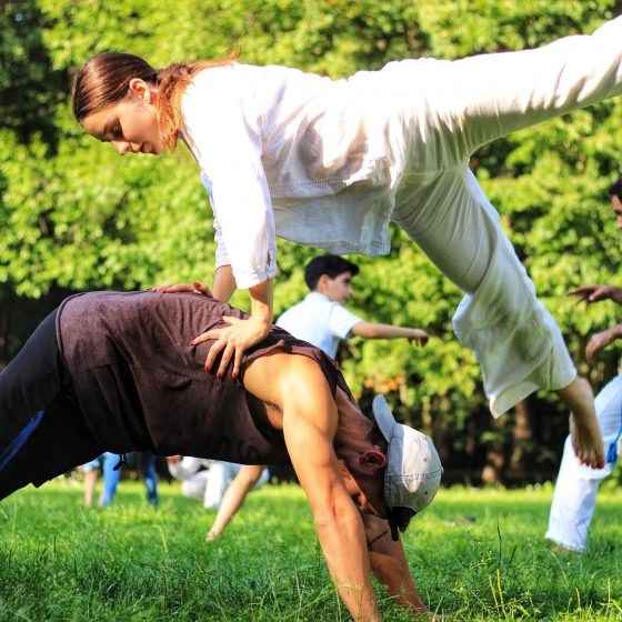 Active Youth capoeira
