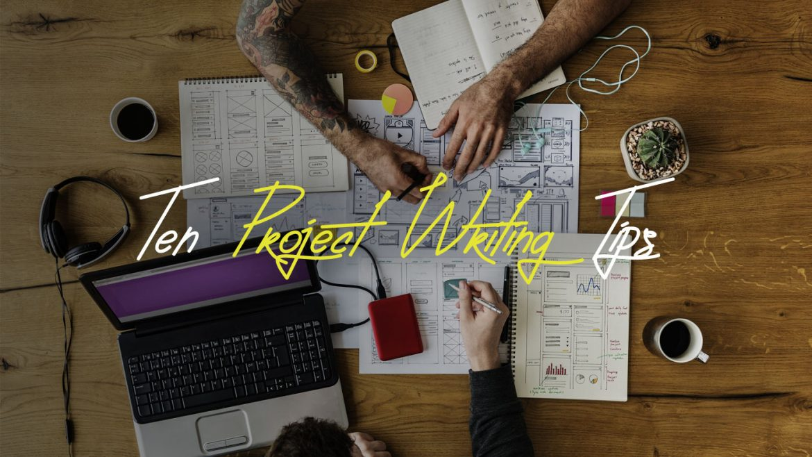 Erasmus project writing tips
