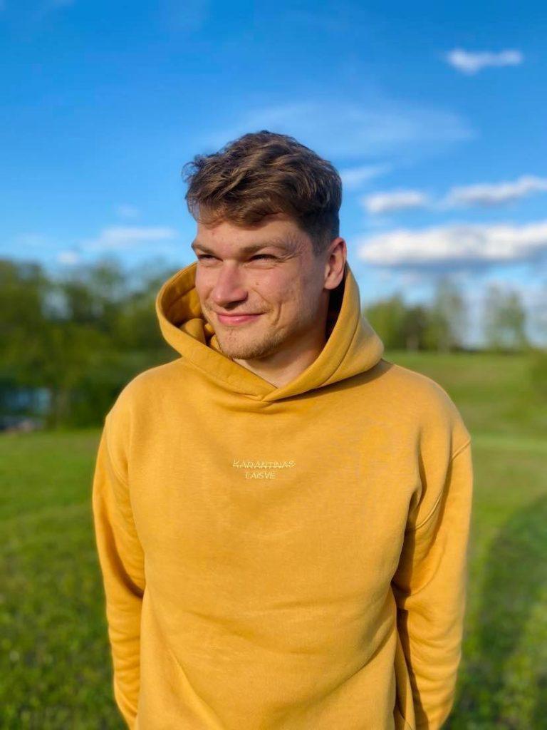 A profile picture of Paulius Jurgutis standing