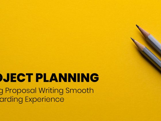 How to write project proposal using a project plan