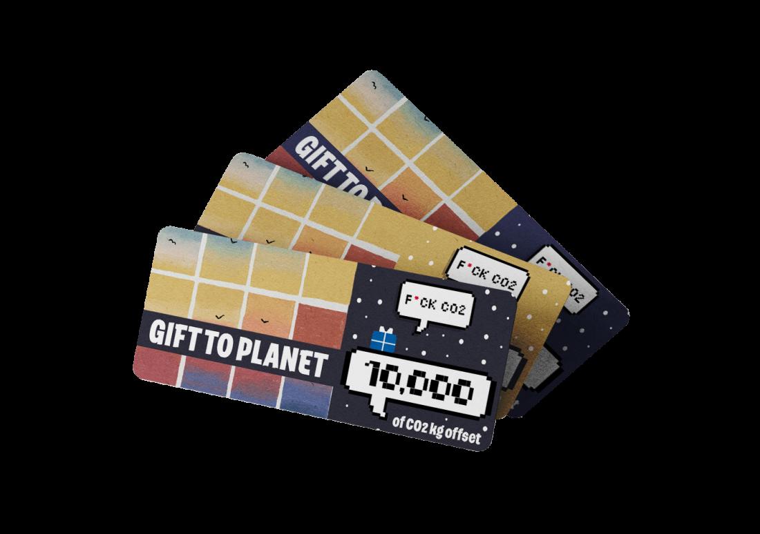 dovanų kuponas planetai