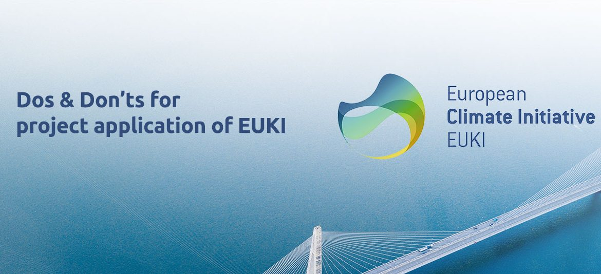 EUKI project application dos and donts