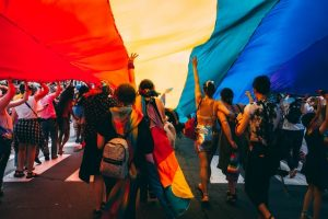 LGBTQI+ rights march