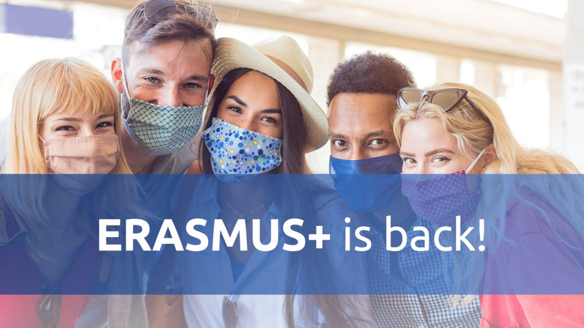 Erasmus 2021 is back
