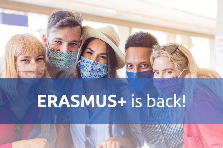 Erasmus 2021 is back